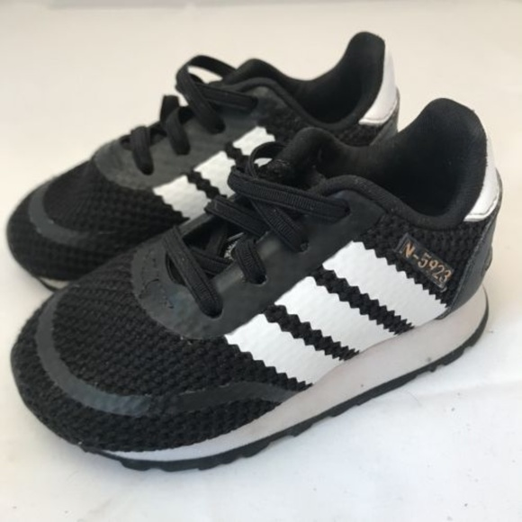 33fb4c4025a adidas Shoes | N5923 Toddler Size 5 5k Black | Poshmark